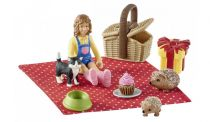 Revenda Figuras Animais - Schleich Farm World 42426 Birthday Picknick