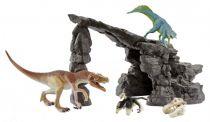 Revenda Figuras Animais - Schleich Dinosaurs 41461 Dinoset + with Cave