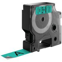 Accessori Stampanti - Dymo D1 Standard 9mm Nero on green             45809