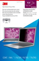 Revenda Protetor Ecrã - 3M HC156W9B Filtro privacidade High Clarity f Notebooks 15,6