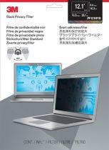 Protezzione Schermo - 3M PF121W Filtro schermo Nero per 30,7cm (12,1 ) 16:10