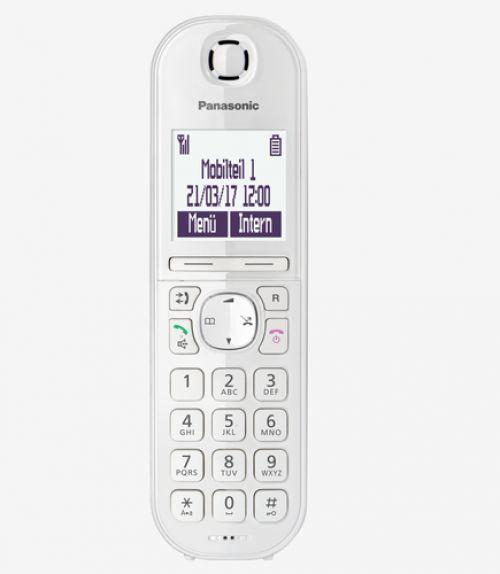 Telefone Panasonic KX-TGQ200GW Branco