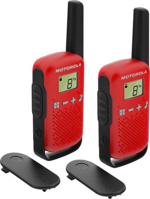 Comprar  - Walkie Talkies Motorola TALKABOUT T42 red