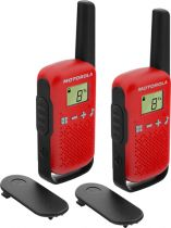 Revenda Walkie Talkies Motorola - Walkie Talkies Motorola TALKABOUT T42 red