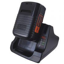Revenda Carregadores Ferramentas - Carregador + Bateria BLACK+DECKER BDC2A36-QW, 36Volt