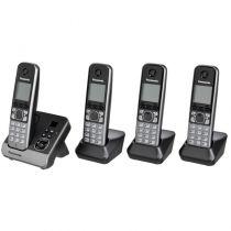 Telefoni cordless DECT - Telefono Panasonic KX-TG6724 GB black