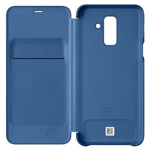 Capa Samsung Flip Wallet para Galaxy A6 Plus 2018 AzulEF-WA605CLEGWW