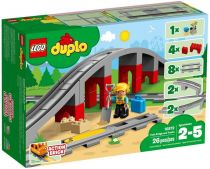 Lego - LEGO Duplo 10872 Train Bridge + Tracks