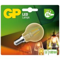 Lampade LED - GP Lighting LED Mini Globus Gold E14 2W (25W), Filament