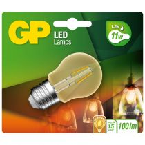 Lampade LED - GP Lighting LED Mini Globus Gold E27 2W (25W), Filament