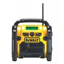 Comprar Rádios / Recetores Mundiais - Radio DeWalt DCR019-QW XR Li-Ion FM/AM Compact-Radio