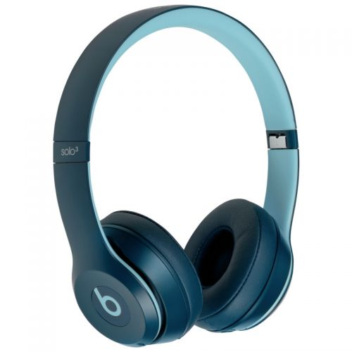 Comprar  - Auscultadores Beats Solo3 Azul Wireless Headphones On-Ear Pop
