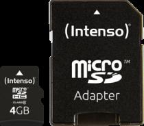 Revenda Micro SD / TransFlash - Intenso microSDHC 4GB Class 10 Cartão Memória