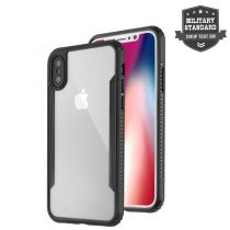 Accessori Apple iPhone X / XS - 4smarts Clip-On Cover Trendline per iPhone X black
