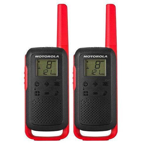 Comprar  - Walkie Talkies Motorola TALKABOUT T62 red
