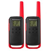 Revenda Walkie Talkies Motorola - Walkie Talkies Motorola TALKABOUT T62 red