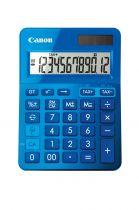 Calcolatrici - Canon Calculatrice LS-123K Azzurro - Visor de 12 dígitos gra