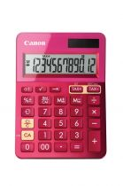 Calcolatrici - Canon Calculatrice LS-123K Rosa - Visor de 12 dígitos grande