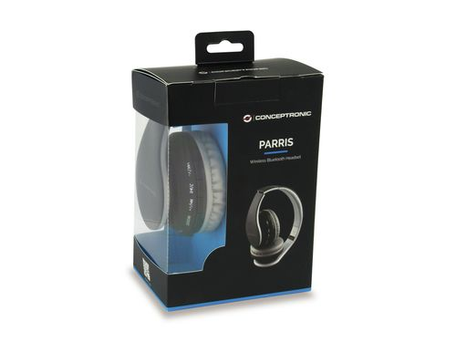 Conceptronic Parris Wireless Bluetooth Auscultadores - black