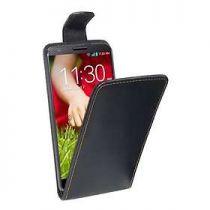 Custodie - Custodia Flip Cover per LG G2 Nero
