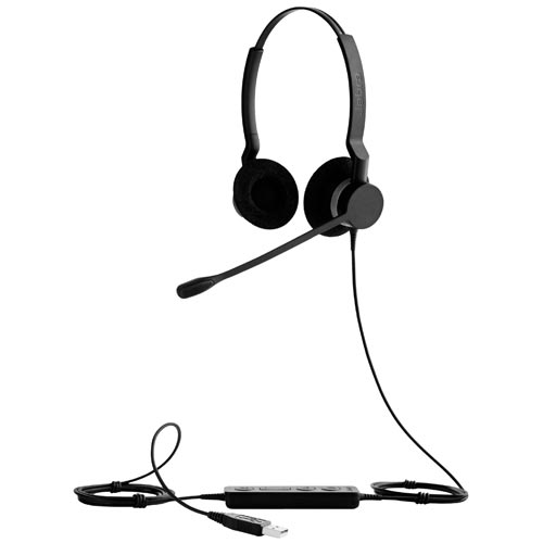 Auriculares - Auricular Jabra GN Netcom 2300 Biaural Usb mute