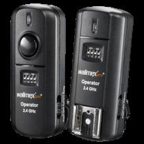 Revenda Disparador Flash / Controlo Remoto - walimex pro Radio Disparador-set Nikon 2,4GHz