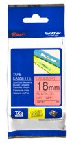 Accessori Stampanti - Brother labelling tape TZE-441 red/black  18 mm