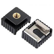 Revenda Acessorios Tripés - S+MART universal mounting 1/4 Inch Thread Hot Shoe Adapter