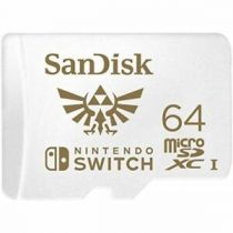 Micro SD / TransFlash - SanDisk MicroSDXC 100MB  64GB Nintendo V2   SDSQXAT-064G-