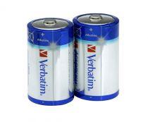 Batterie - VERBATIM PILHAS ALCALINAS D LR20 2 UNIDS