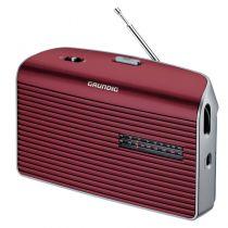 Radio-ricevitore mondiale - Radio Grundig Music 60 red/silver