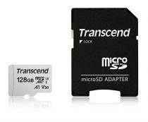 Micro SD / TransFlash - Transcend microSDXC 300S-A 128GB Class 10 UHS-I U3 V30 A1