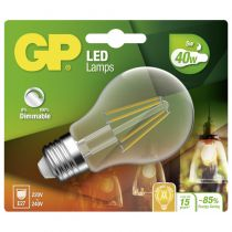 Lampade LED - GP Lighting Filament Classic E27 5W (40W) dimmable 470 lm
