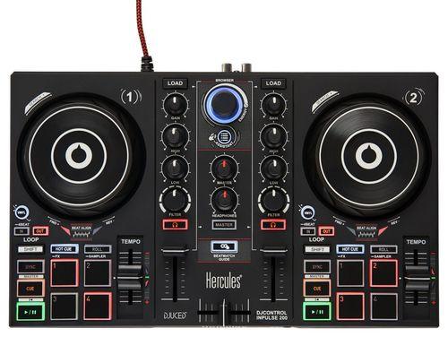Comprar  - HERCULES MESA MISTURA DJ CONTROL INPULSE 200