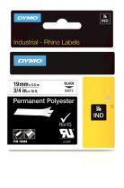 Accessori POS - Dymo Rhino Polyband 18484, Fita / Tape   19 mm, Nero on whi