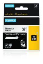 Accessori POS - Dymo Rhino Polyband 1734523, Fita / Tape   24 mm, Nero on w