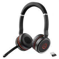 Revenda Auriculares - Auricular Jabra Evolve 75 MS Duo black