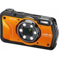 Revenda Camaras Digitais Ricoh - Câmara digital Ricoh WG-6 orange