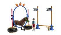 Revenda Figuras Animais - Schleich Farm World 42482 Pony Agility Race