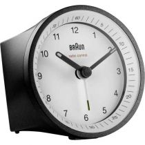 Revenda Relógios Parede - Despertador Braun BC07 BW-DCF black