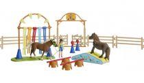 Revenda Figuras Animais - Schleich Farm World 42481 Pony Agility Training