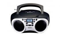 Revenda Rádio Cassette / CD - Radio CD Lenco SCD-501 Branco/black