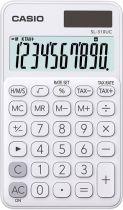 Calcolatrici - Calculadora Casio SL-310UC-WE white