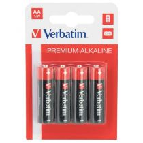 Batterie - VERBATIM PILHAS ALCALINAS AA LR6 4 UNIDS