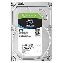 Revenda Discos Rígidos - Disco HDD 3TB Seagate SkyHawk Surveillance HDD ST3000VX009 internal 3.