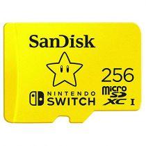Micro SD / TransFlash - SanDisk MicroSDXC 100MB  256GB Nintendo      SDSQXAO-256G-