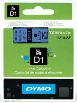 Accessori Stampanti - Dymo D1 12mm Black/Blue labels 45016
