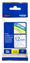 Accessori Stampanti - Brother labelling tape TZE-133 clear/blue 12 mm