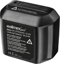 Revenda Acessórios Flash - walimex pro Bateria 8700mAh para 2Go Series