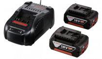 Caricabatteria per strumenti - Bosch GAL 1880 CV Charger + 2x GBA 18V 5,0 Ah